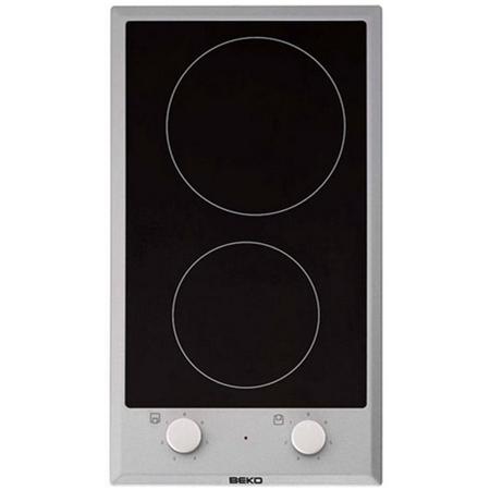 Beko  HDCC 32200 X zwart-RVS Keramische Kookplaat