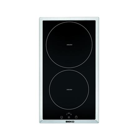Beko  HDMI32400DTX zwart-RVS Keramische Kookplaat