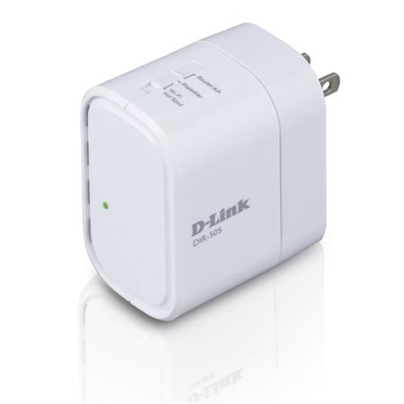 D-Link DIR-505/E  Mobile Companion - Range Extender wit Netwerk Accessoire