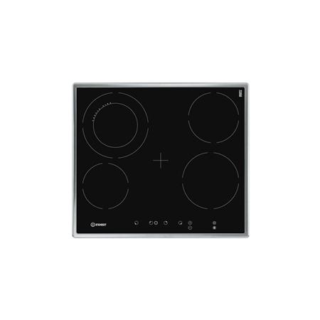 Indesit VRA 641 D X S zwart Keramische Kookplaat
