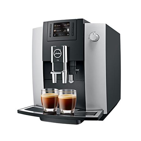 Jura E6 platina Espressomachine