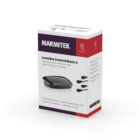 Foto van Marmitek Invisible Control Black 4 Infrarood verlenger
