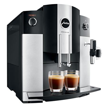 Jura IMPRESSA C65 Platina Espressomachine