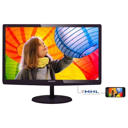 Philips 247E6QDAD/00 zwart Monitor