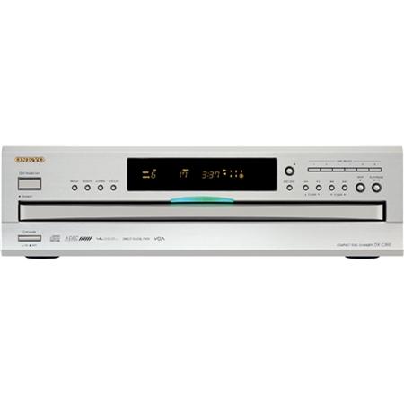 Onkyo DX-C 390 S zilver CD Speler