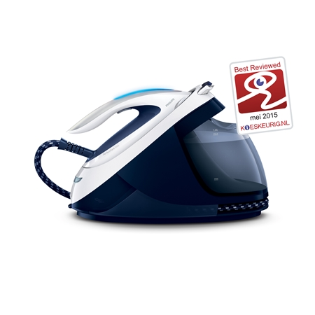 Philips GC9622/20 blauw-wit Stoomgenerator