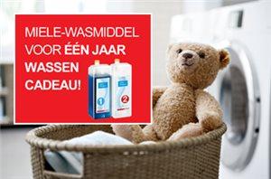 Miele W1 wasmachines met gratis wasmiddelpakket