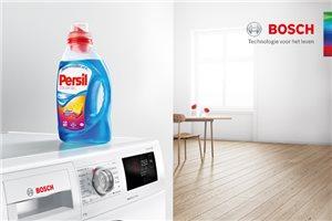 Gratis Persil wasmiddel-pakket bij Bosch i-DOS