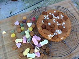 Pepernoten Speculaas cake