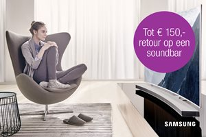 Samsung - Tot 150,- retour op een soundbar
