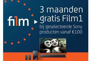 Sony - 3 maanden gratis Film1