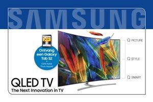 Samsung QLED - Nu met tablet en/of tot 250,- Pathé Thuis