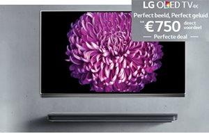 LG - Tot 750,- voordeel op OLED TV's