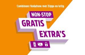 Combineer Vodafone met Ziggo en ontvang gratis extra's!