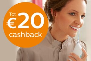 Philips Oral Healthcare tot 20 euro cashback