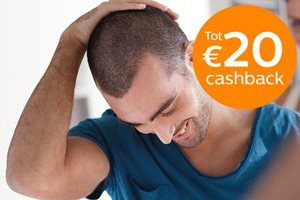 Philips Male Grooming tot 20,- cashback