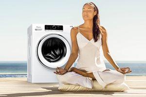 Tot 150,- euro cashback op fluisterstille Whirlpool ZEN wasmachines