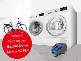 Win een Gazelle E-Bike t.w.v. 2.799,- euro