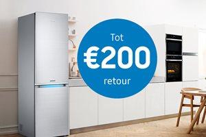 Samsung koelen tot 200,- euro retour