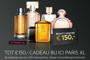 Tot 150,- euro cadeau bij ICI PARIS XL
