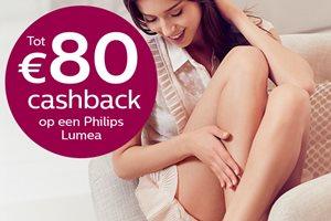 Philips Beauty IPL tot 80,- euro cashback