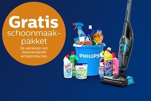 Philips steelstofzuiger met gratis schoonmaakpakket