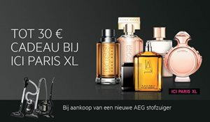 Tot 30,- euro cadeau bij ICI PARIS XL