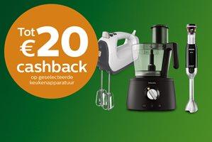 Philips Kitchen tot 20,- euro cashback