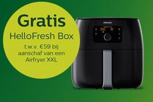 Philips Airfryer met gratis HelloFresh maaltijd pakket