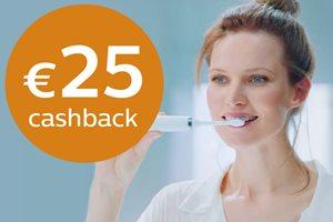 Philips Oral Healthcare met 25,- euro cashback