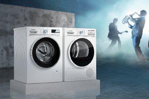 Siemens wasmachine en droger tot 100,- euro cashback