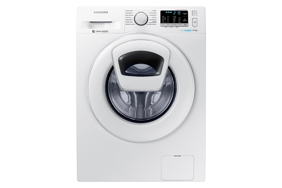 Samsung WW80K5400WW wit Wasmachine 2
