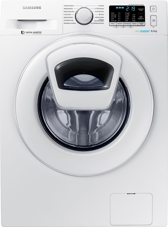 Samsung WW80K5400WW AddWash Wasmachine 1