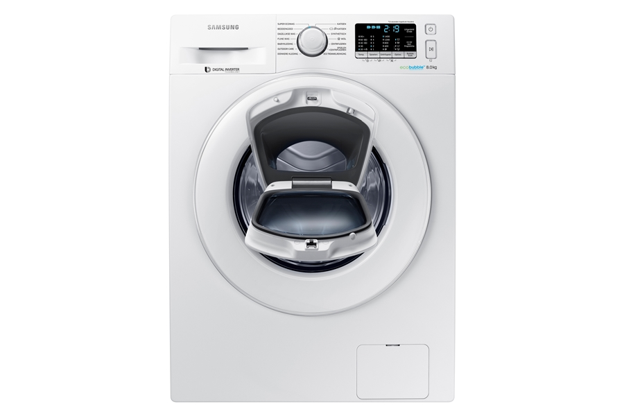 Samsung WW80K5400WW wit Wasmachine 1
