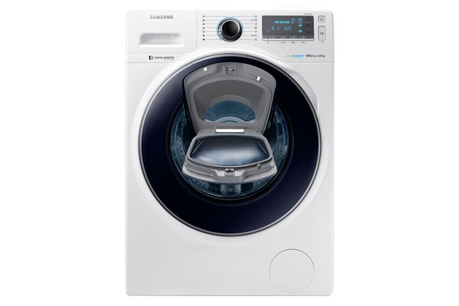 Samsung WW80K7605OW wit Wasmachine 2