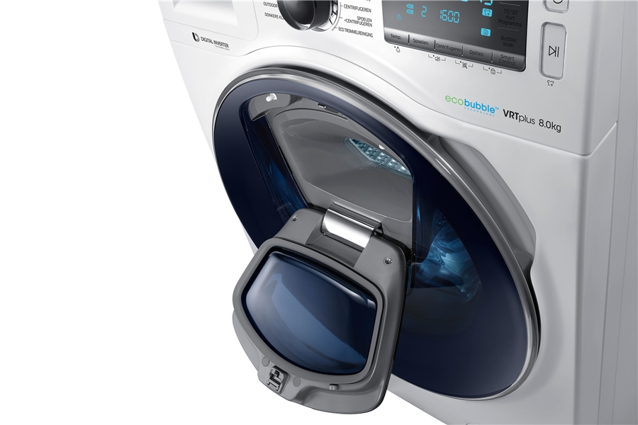 Samsung WW80K7605OW wit Wasmachine 7