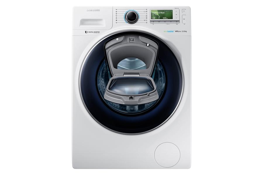 Samsung WW12K8402OW wit Wasmachine 1