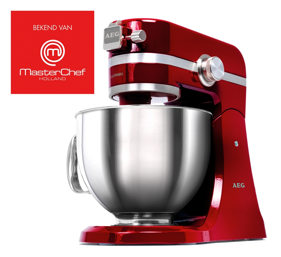 aeg km 4000 ultramix rood edelstaal keukenmachine kopen. Black Bedroom Furniture Sets. Home Design Ideas