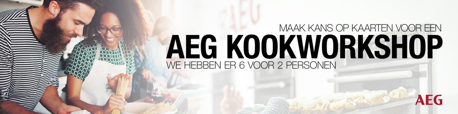 AEG kookworshop