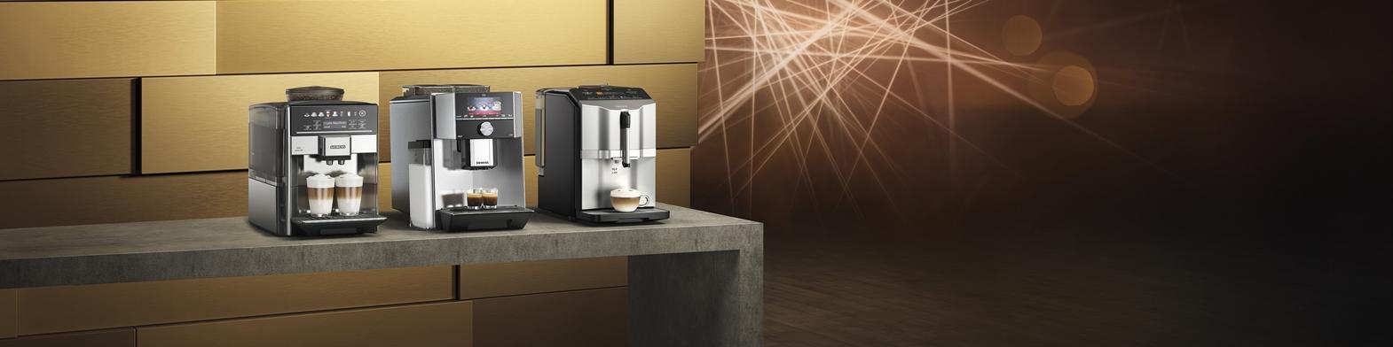 Tot 150,- euro retour op Siemens EQ Espresso Volautomaten