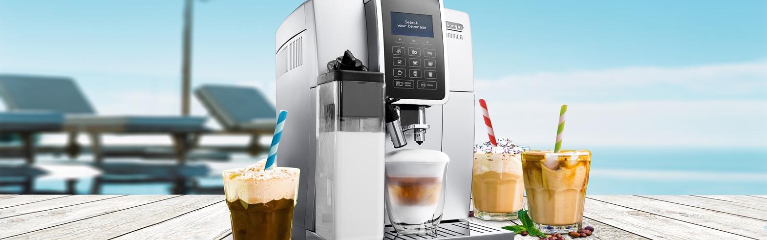 De'Longhi Espressomachine | ijsmachine + receptenboek cadeau