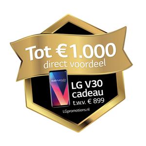 Tot € 1.000 direct voordeel + LG V30 smartphone bij een LG OLED TV   EP.nl