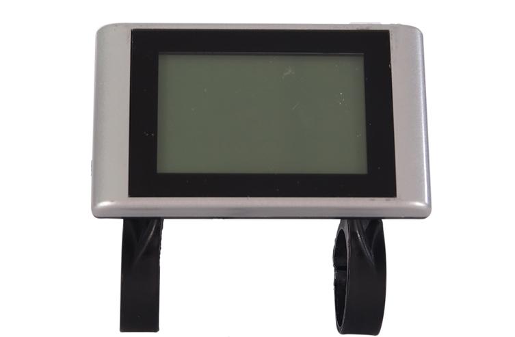 Cross LCD + Bediening Zilver