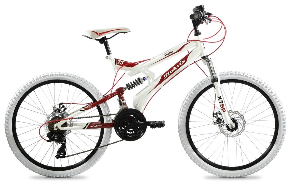 Stokvis Tivoli 24″ 41 cm White/red