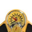 Lynx Vloerpomp Manometer geel