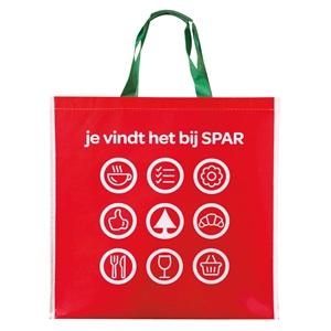1e prijs: SPAR boodschappentas vol lekkers