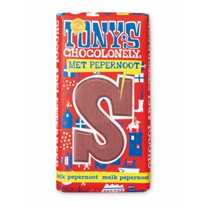 Tony's Chocolonely chocoladeletter