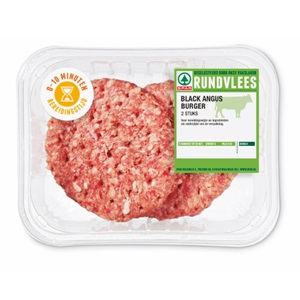 SPAR black angus burger