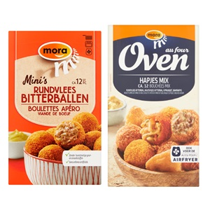 Mora mini snacks
