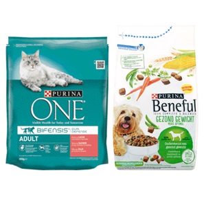 Purina One of Beneful dierenvoeding